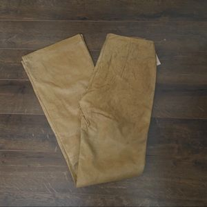 WILSON PELLE STUDIOS Ostrich Leather Flare Pants